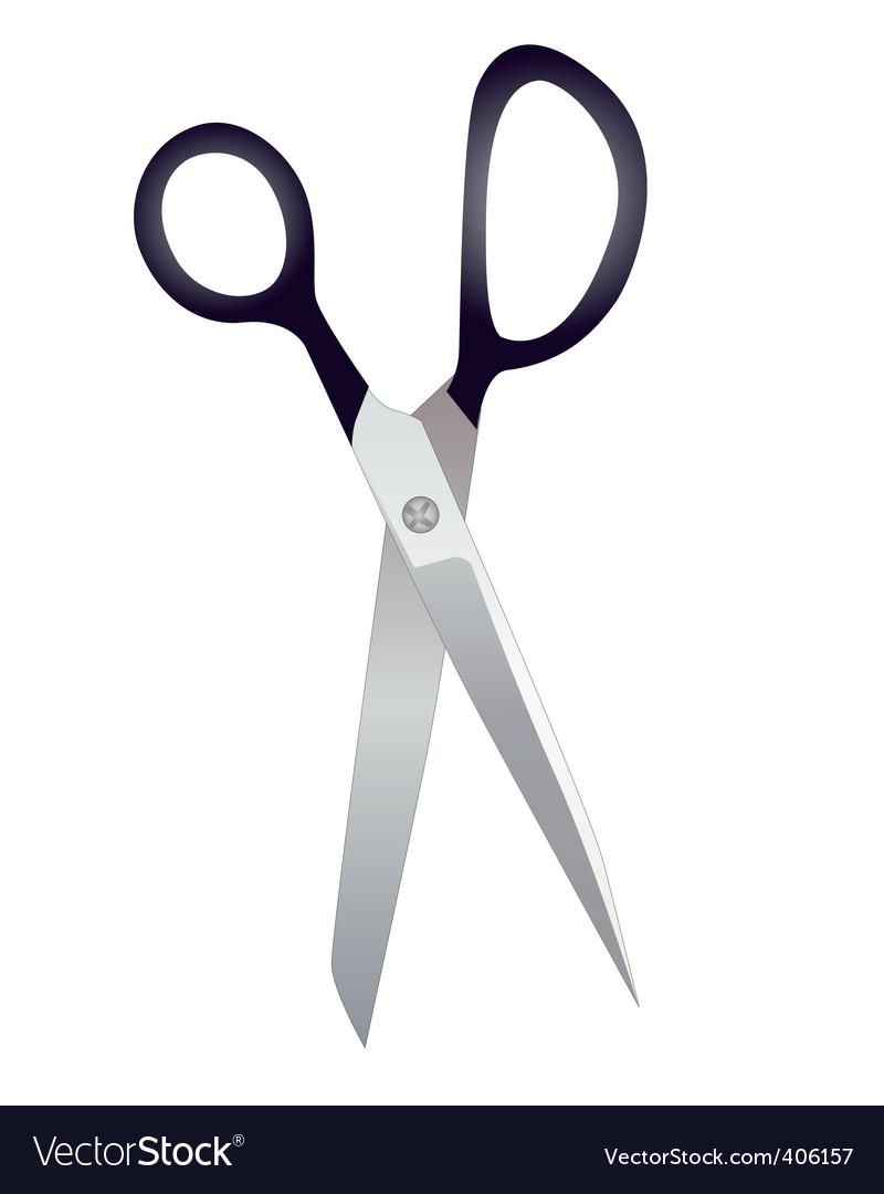 Tailor scissors vector