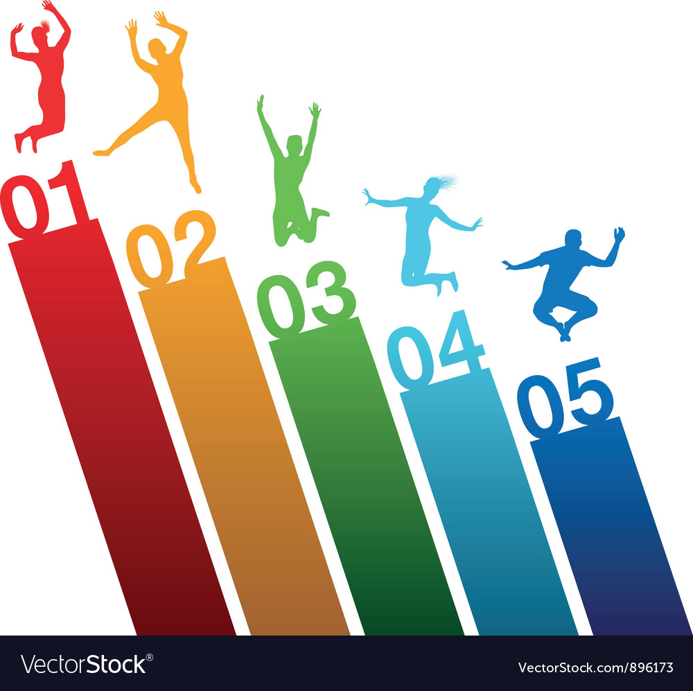 Number jumping vector