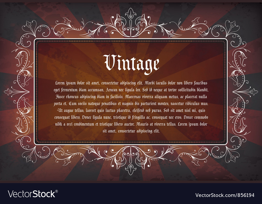 Grunge label vector