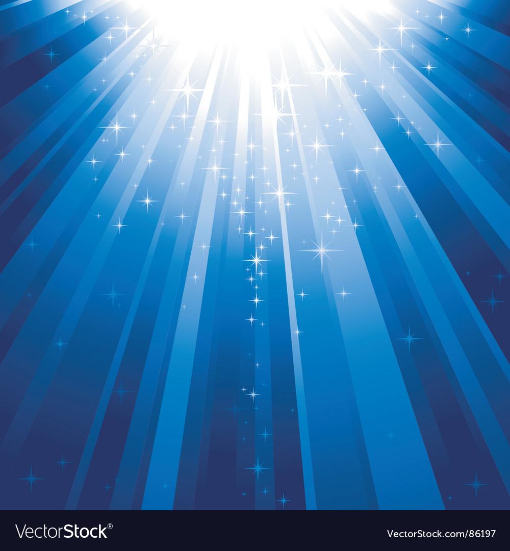 Magic stars vector