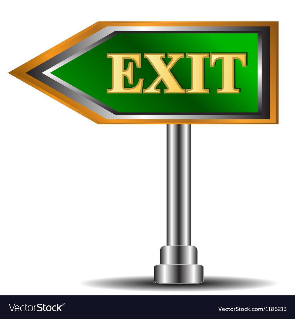 Exit symbol vector