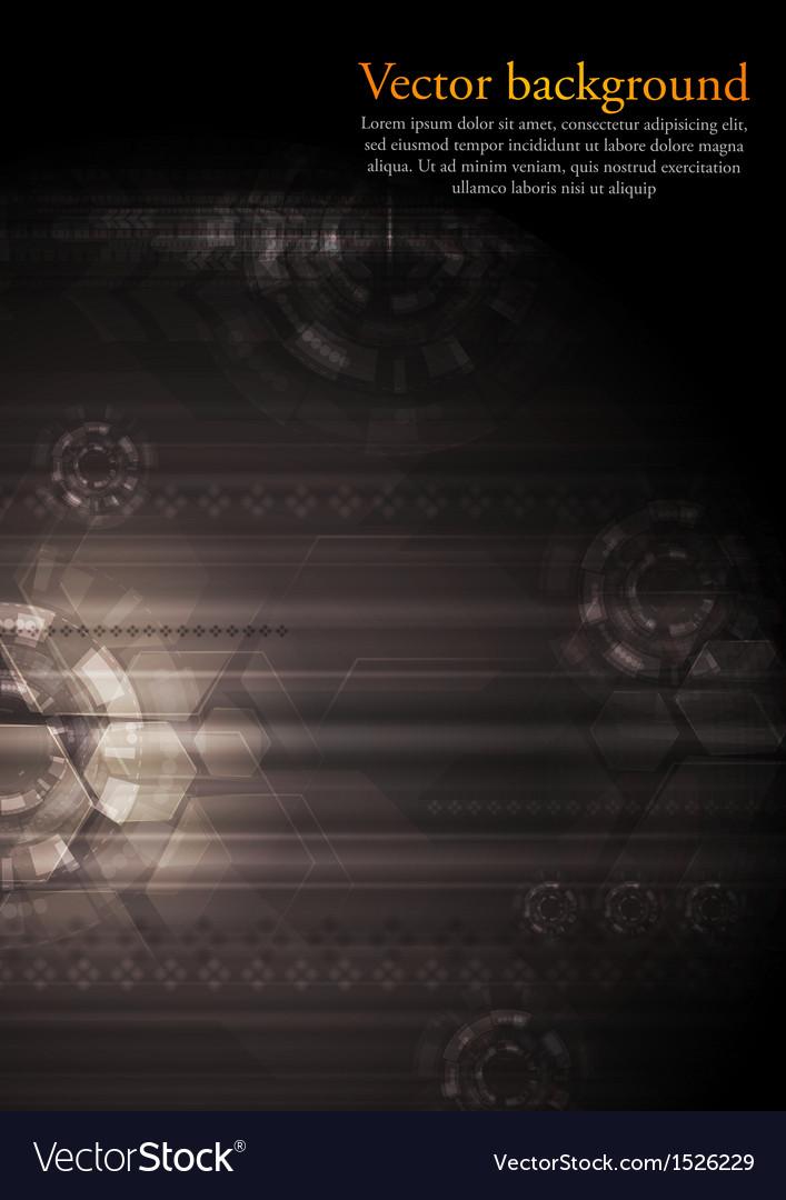 Dark modern hi tech vector art download dark vectors