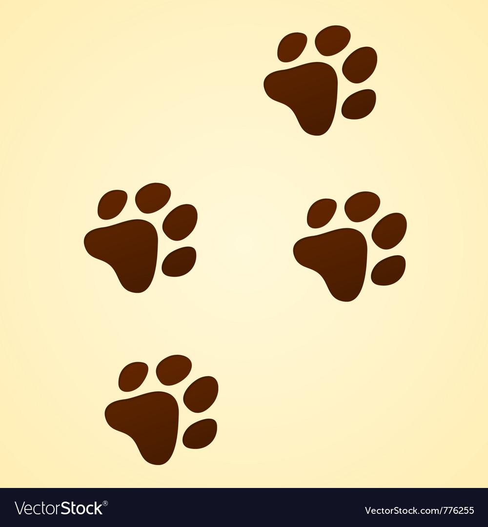 Wildlife cartoon trace vector