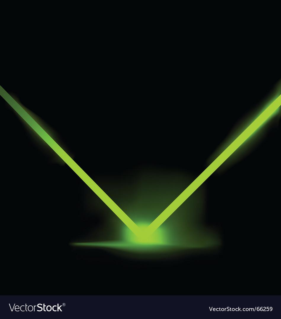 Laser light illustration vector