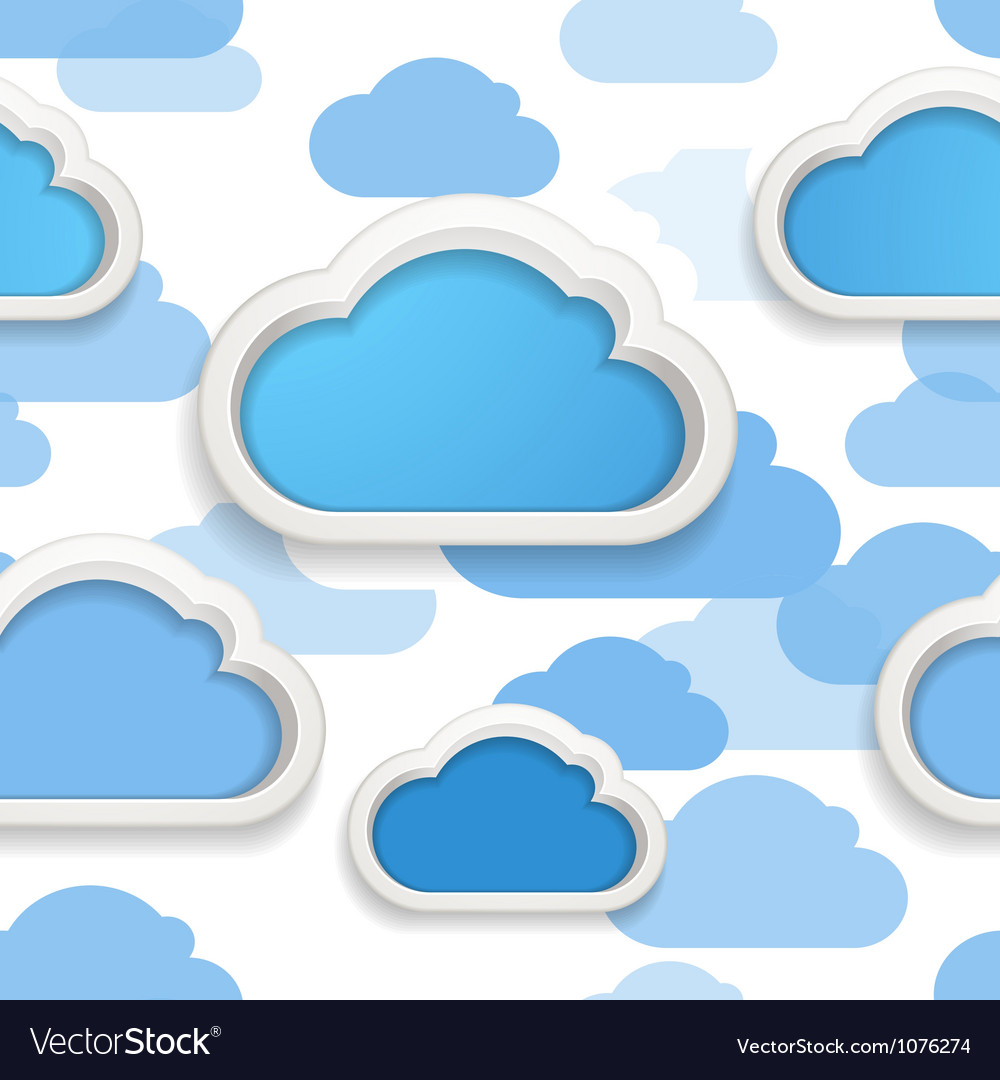 Cloudscape vector