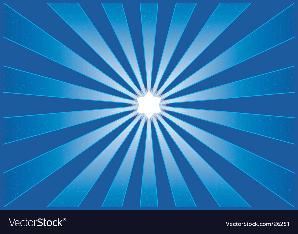 Shining starburst vector