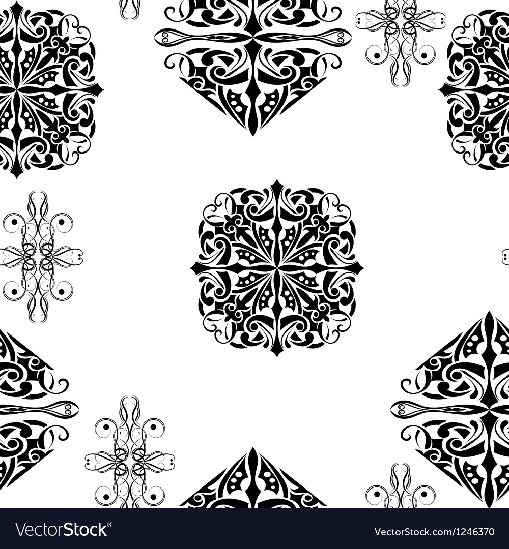Free abstract seamless vector