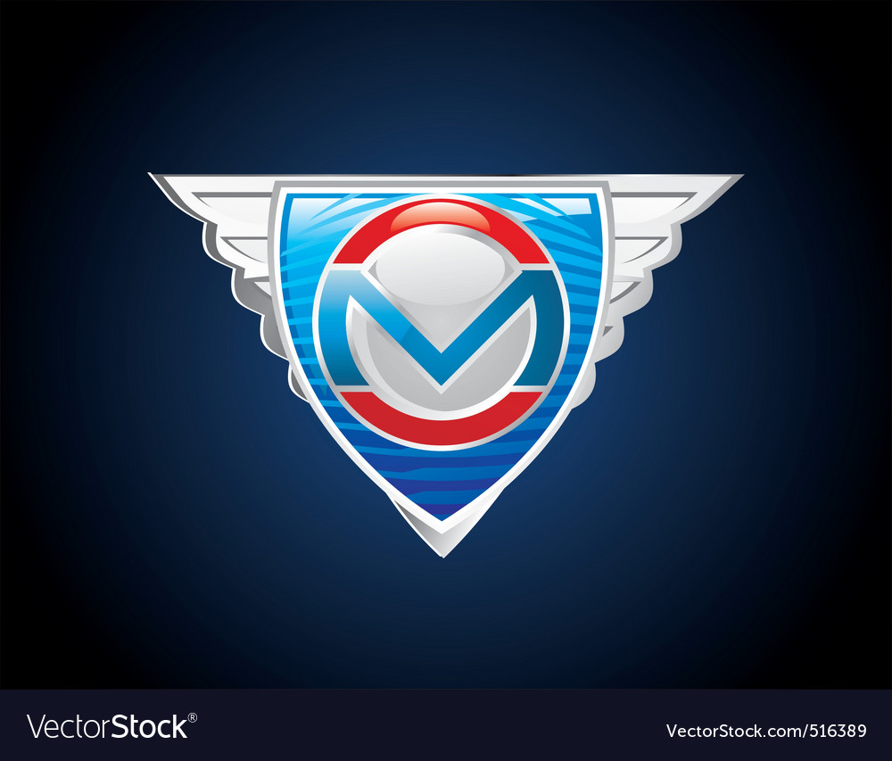 Super emblem vector