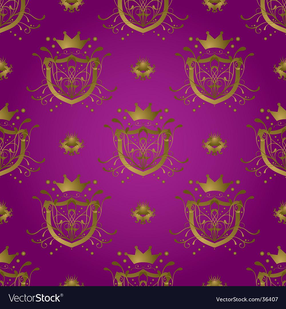 Purple shield vector