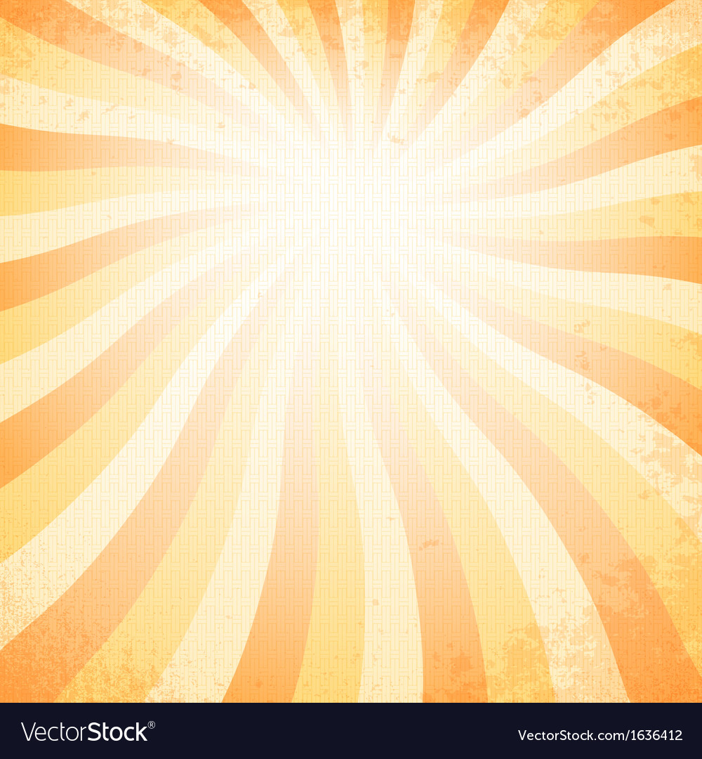 Sunset vintage background vector