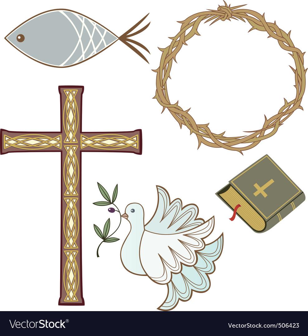 Christian symbol vector