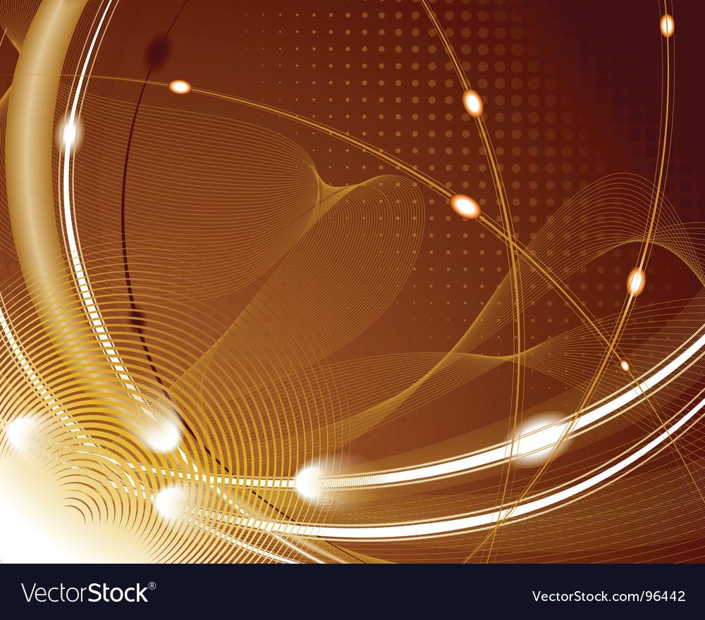Techno pattern vector