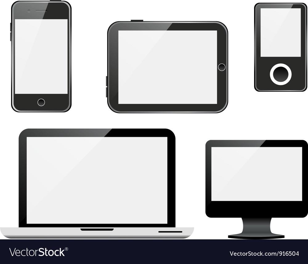 Gadgets vector