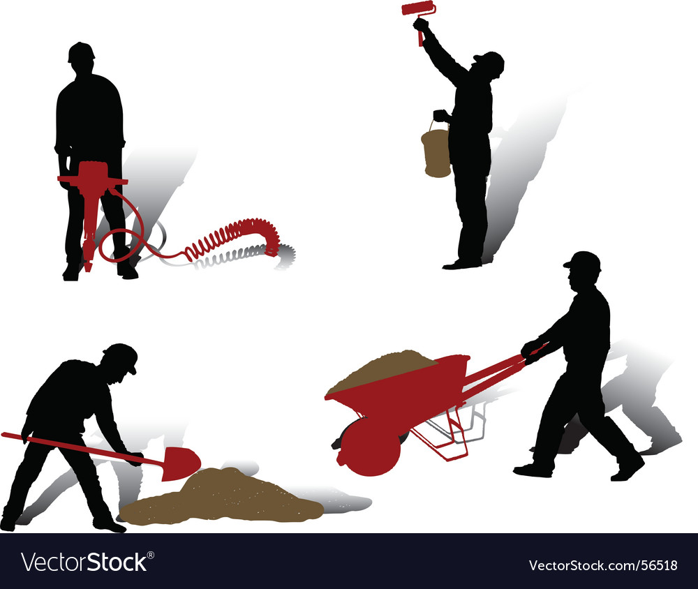 Workers collection vector