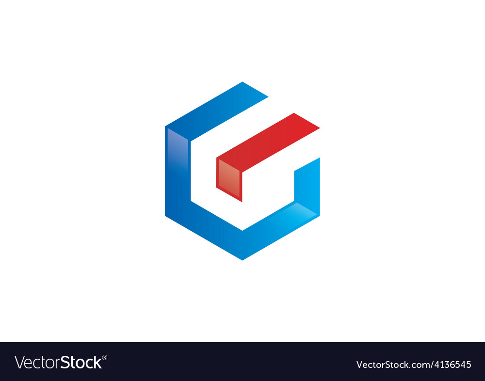 Free polygon letter g geometry  G Logo Vector Free Download
