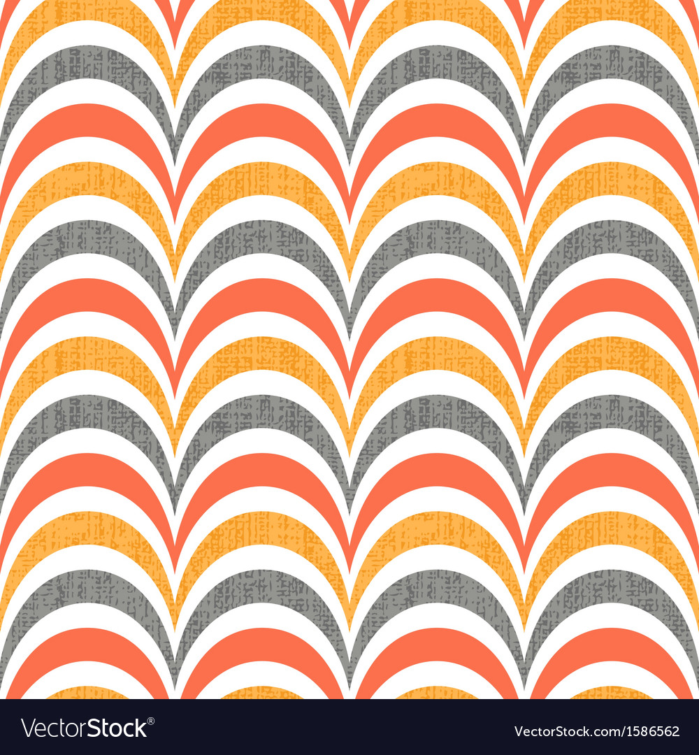 Seamless abstract wave pattern vector