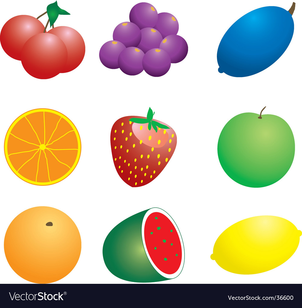 Fruit n veg vector