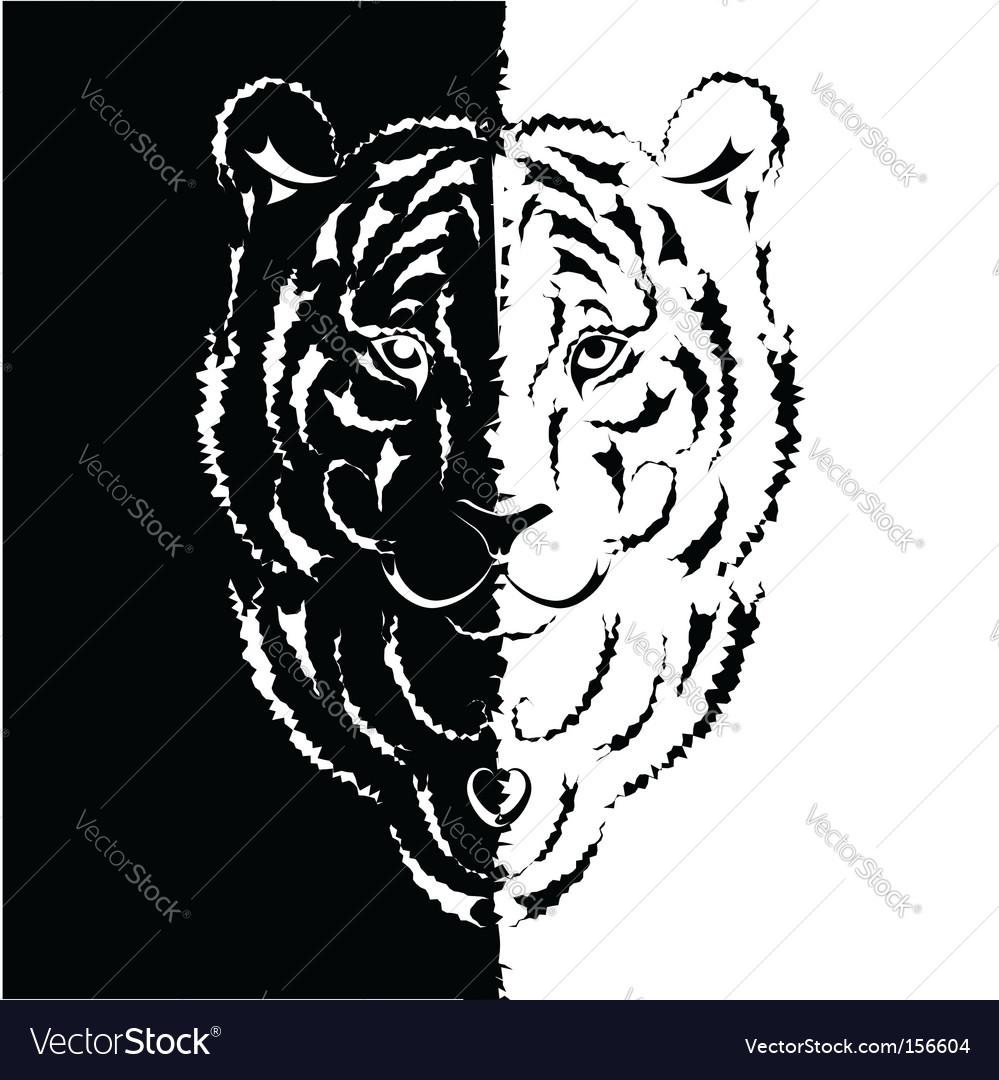 Tiger symbol 2010  vector