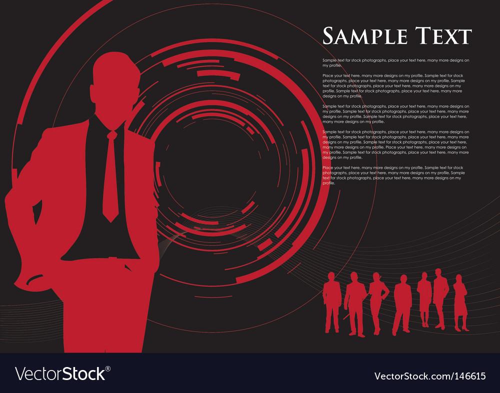 Business camera swirl vector