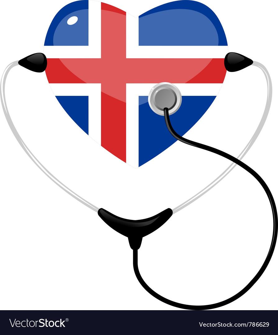 Medicine iceland vector