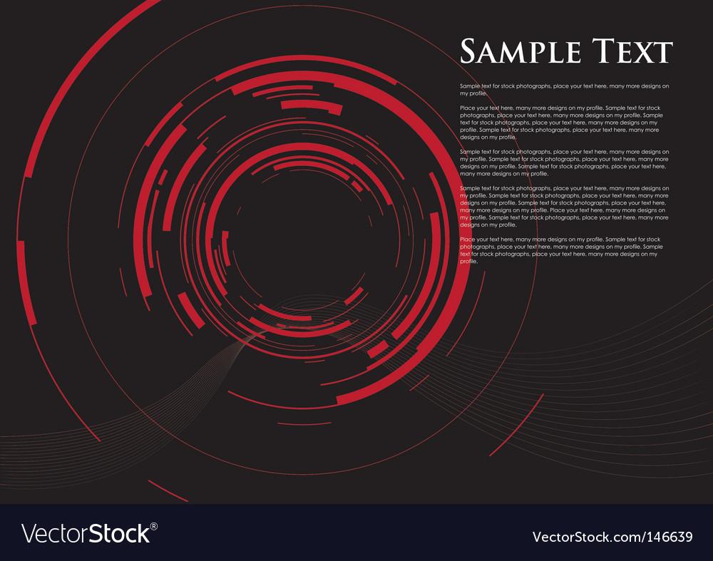 Camera red dot vector