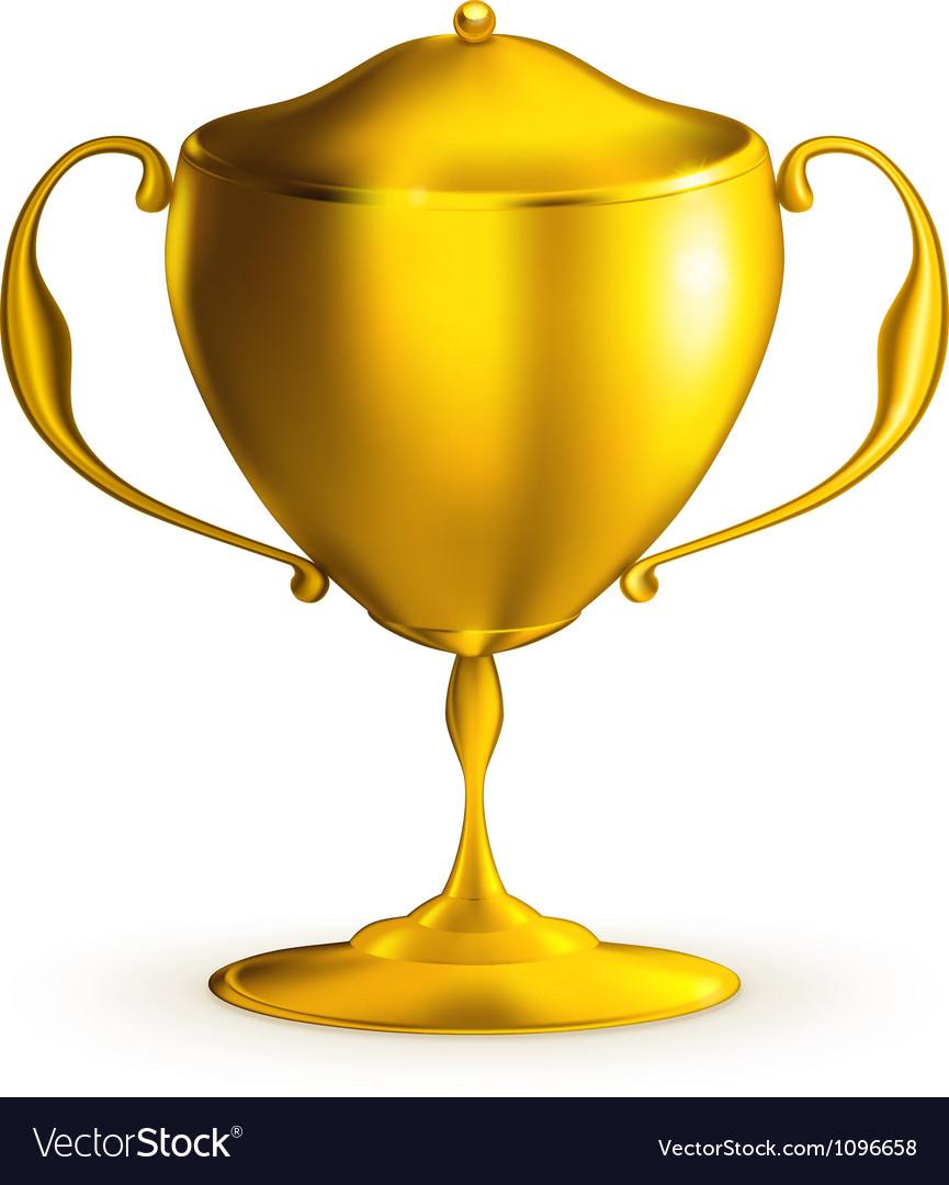 Golden prize vector