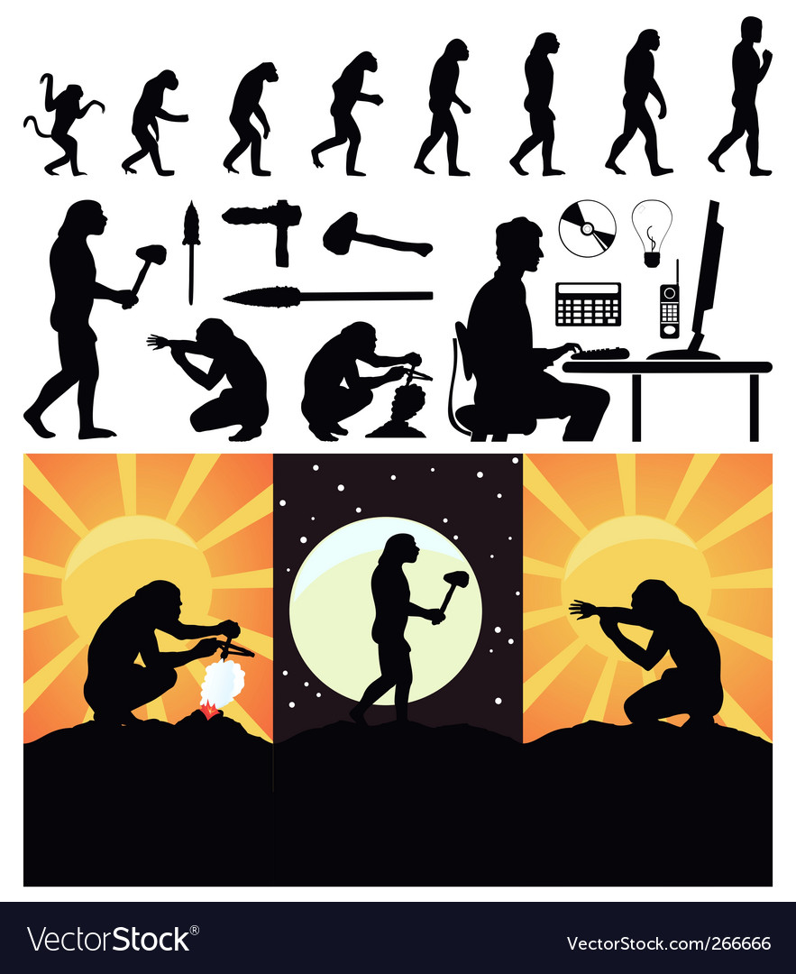 Evolution of the person vector