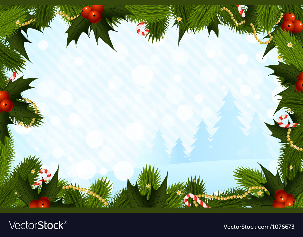 Christmas card template vector by wad image 1076673 vectorstock
