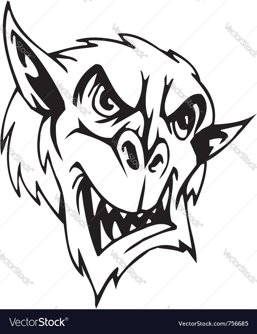 Goblin - halloween set - vector