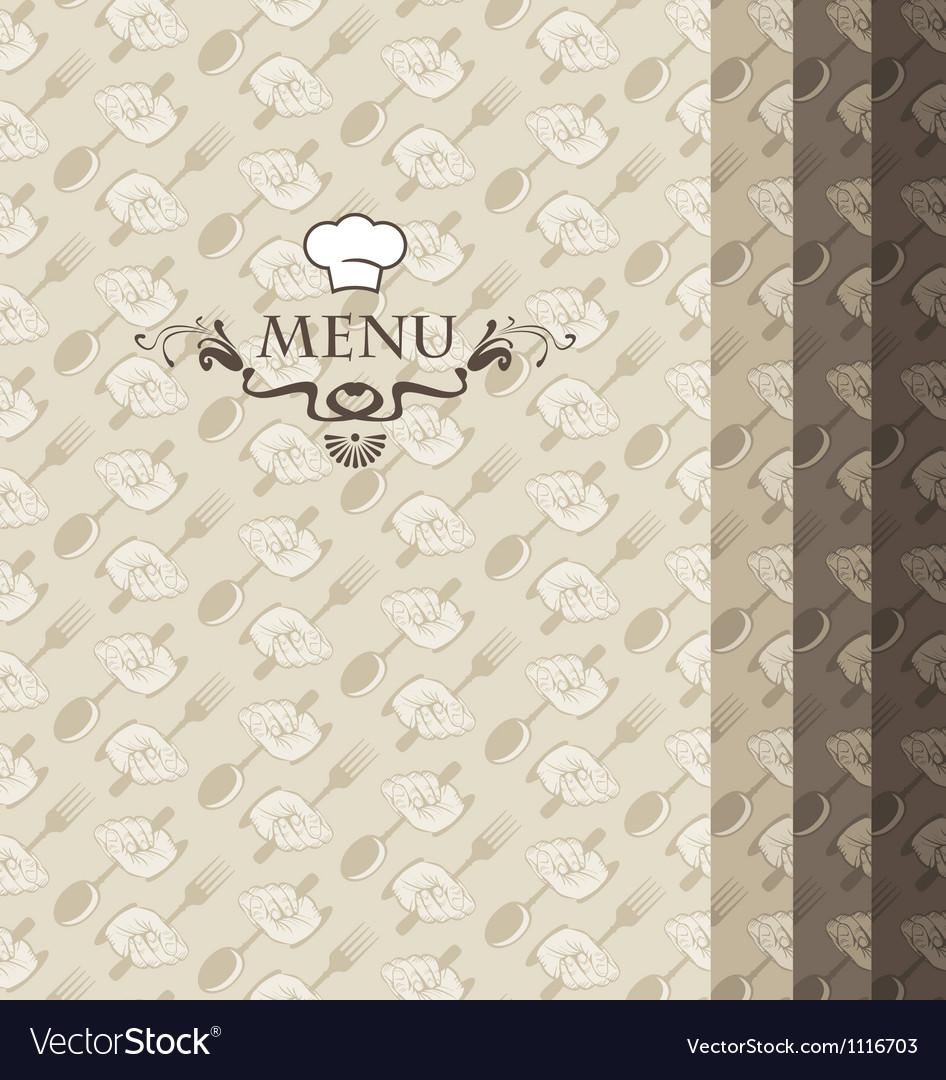 Four menus vector