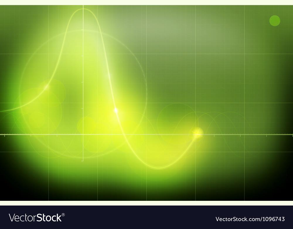 Oscillograph vector