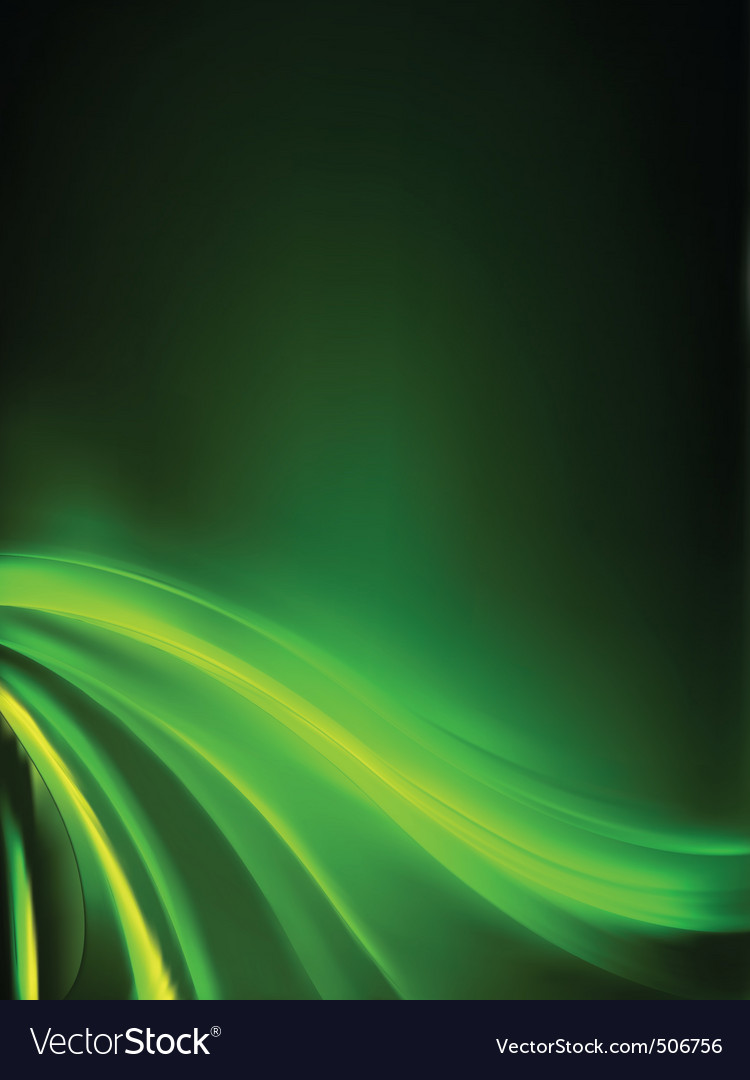 Abstract green lights background eps 8 vector