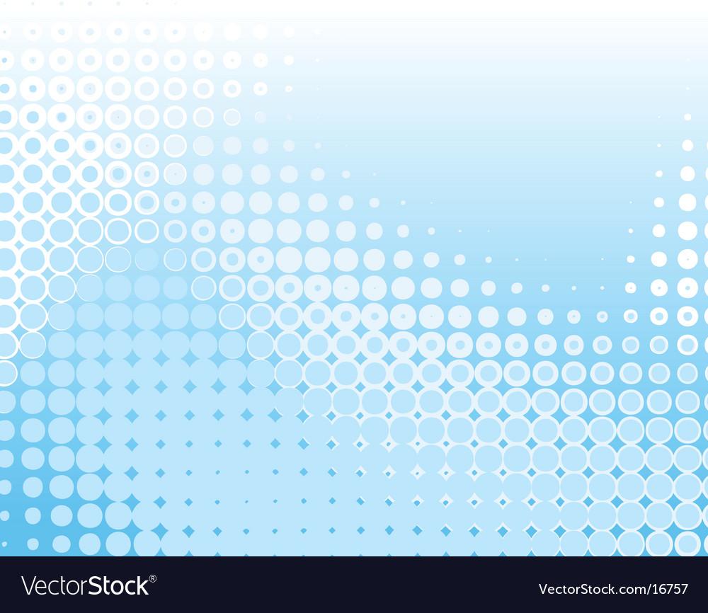 Blue dots vector