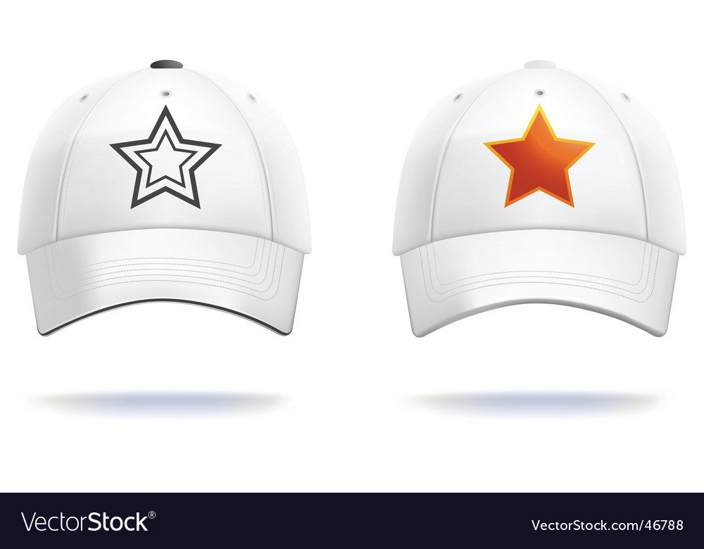 White cap vector
