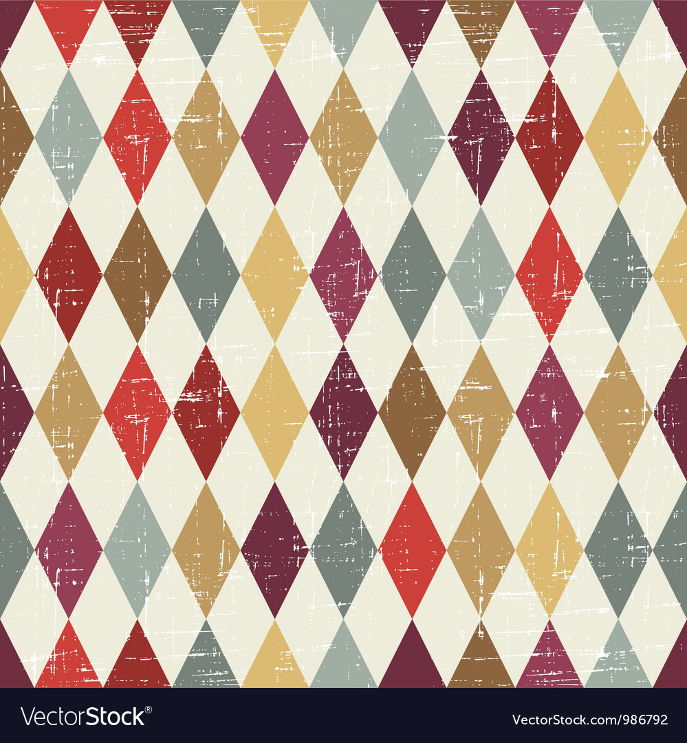 Retro texture pattern vector