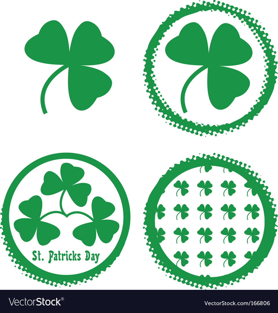St patricks design vector