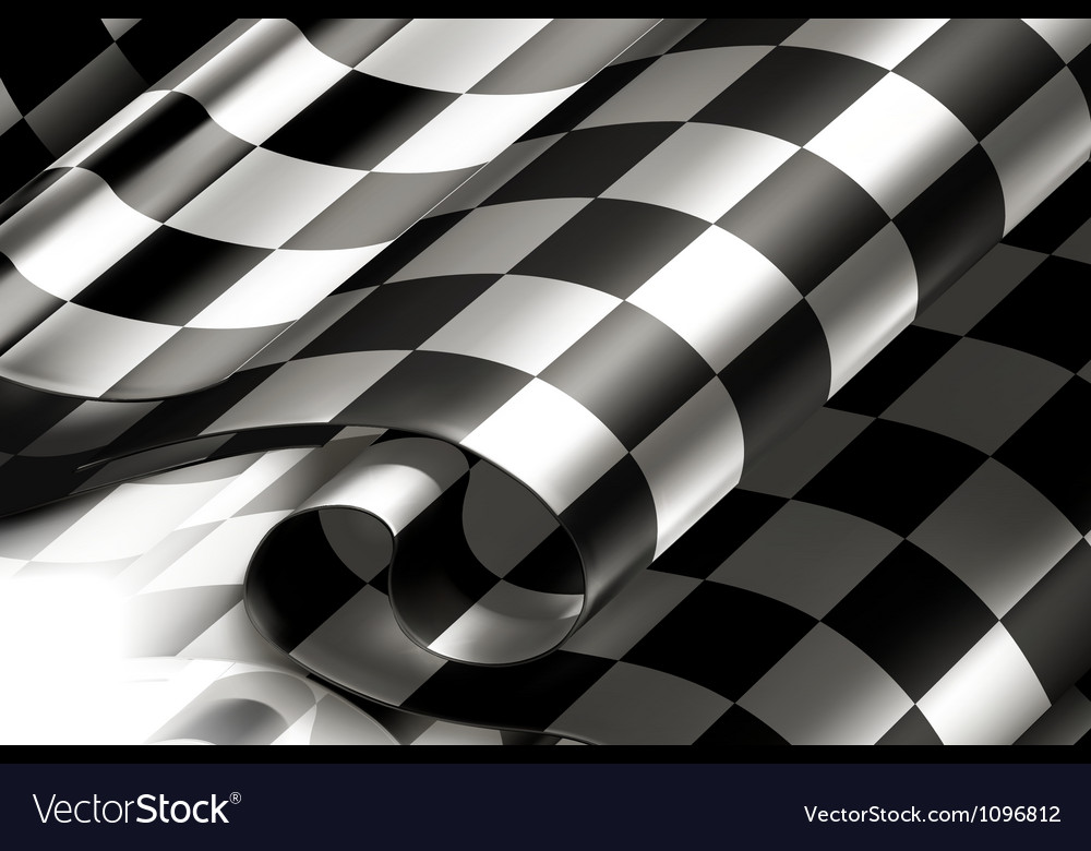 Checkered background horizontal vector