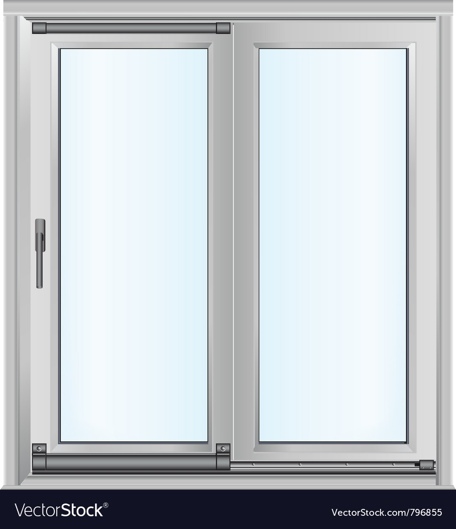 Door - realistic vector