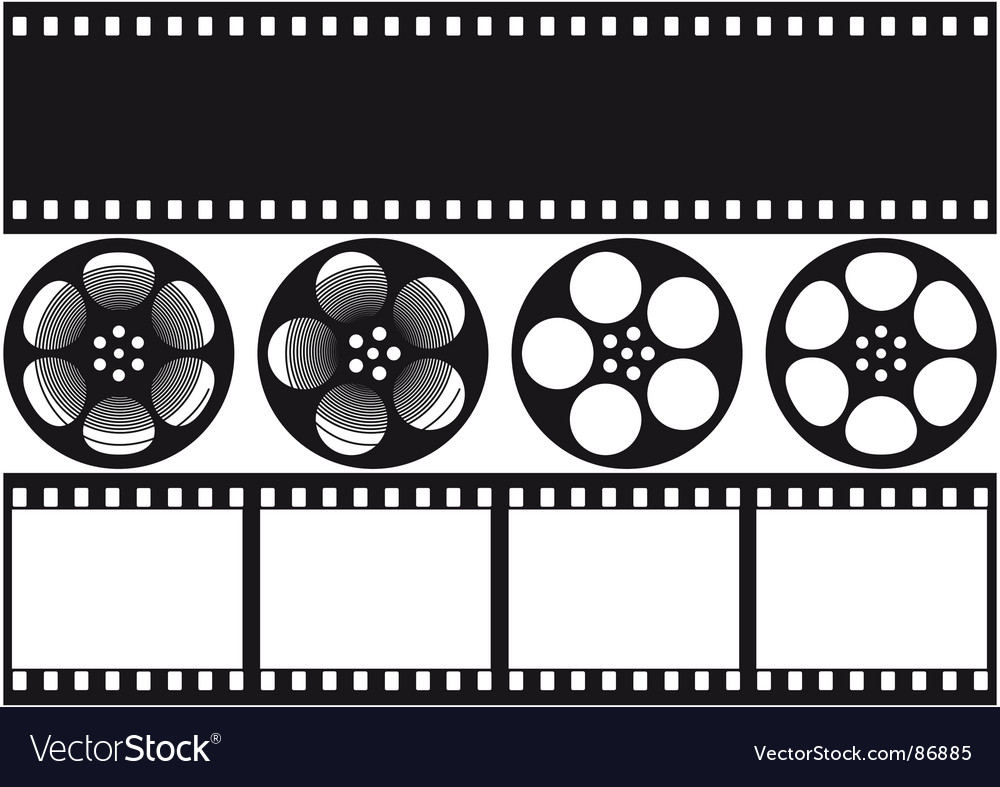 Video film vector