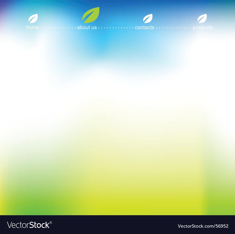 Template vector