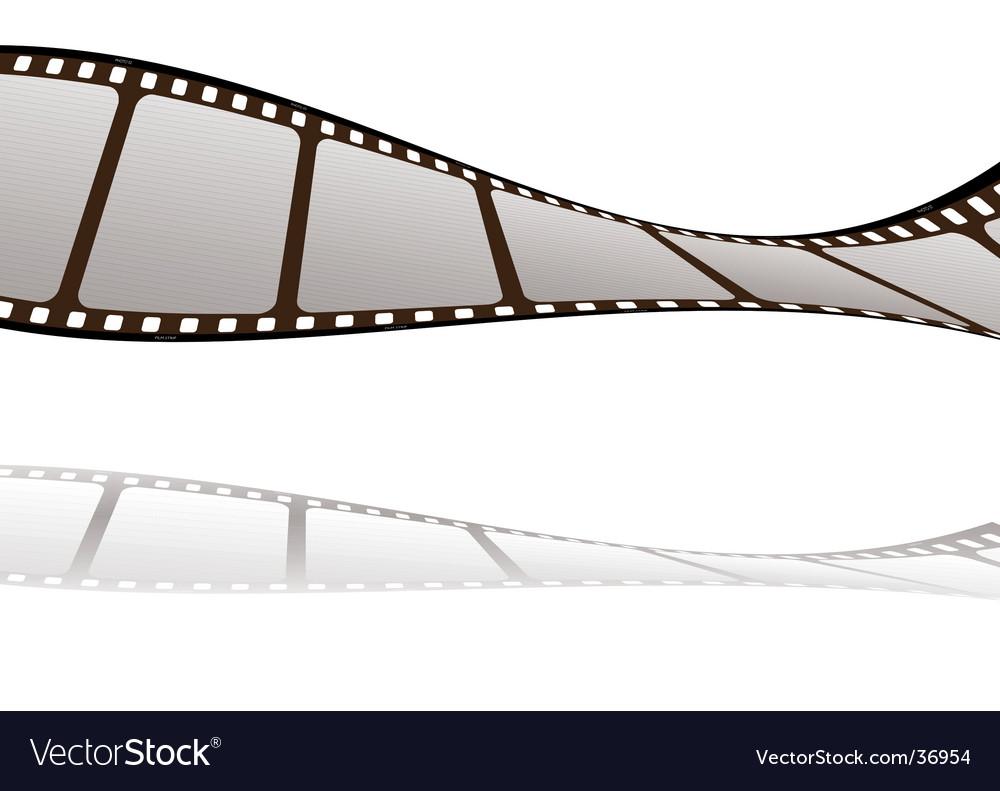 Film float shadow vector