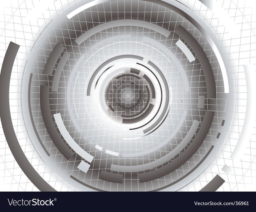 Digital gray future vector