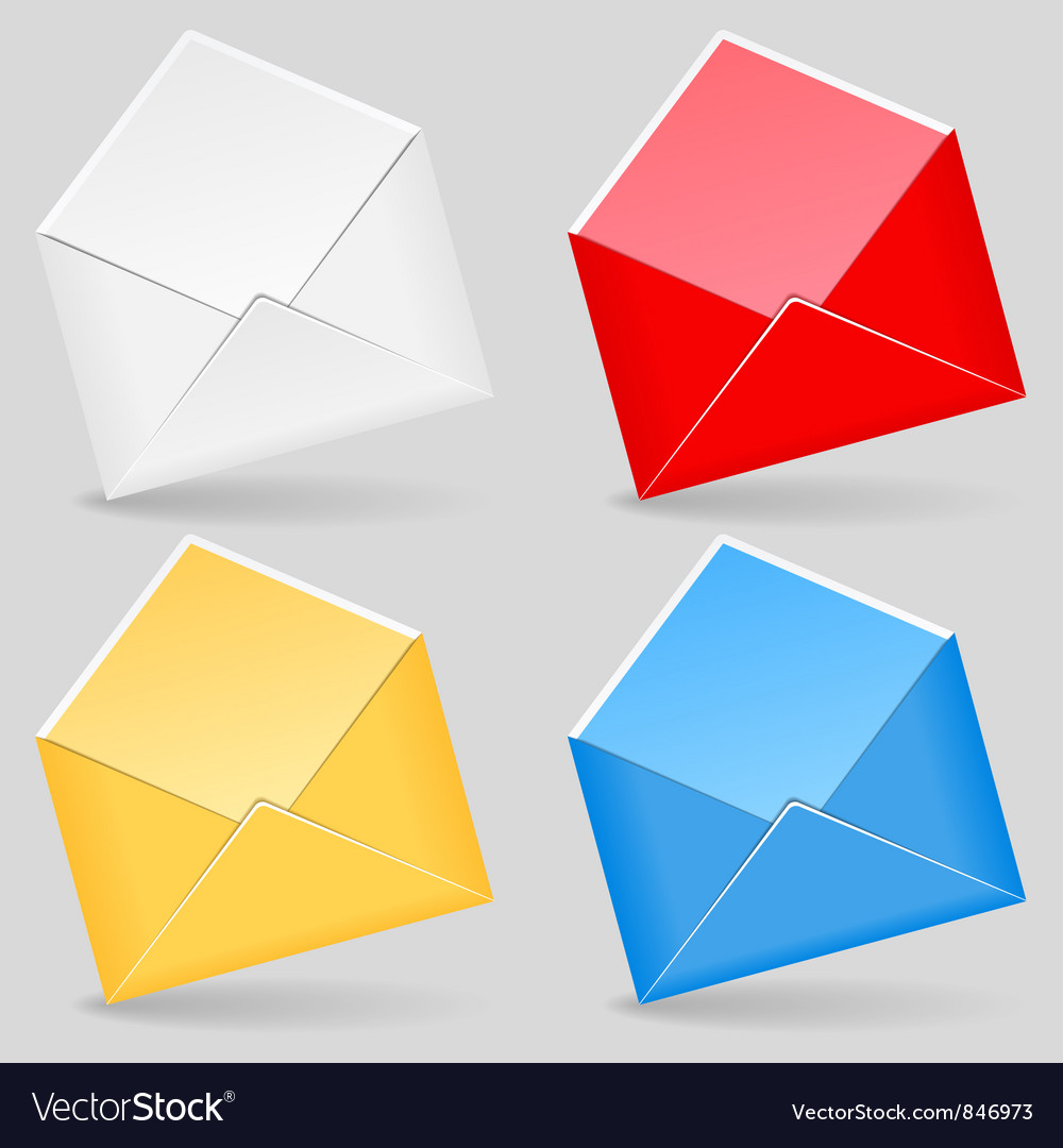 Free envelopes vector