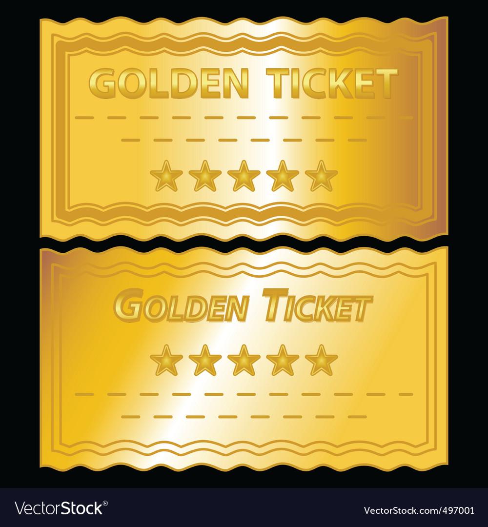 Editable Golden Ticket Template   April Calendar   April Calendar