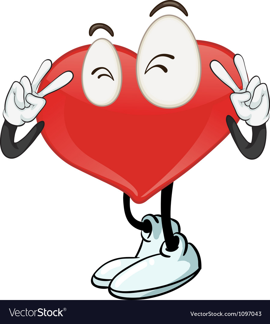 A heart vector