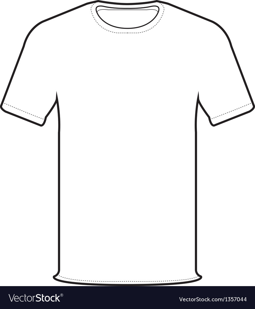 Front Tshirt Vector By Attaphong Image 1357044