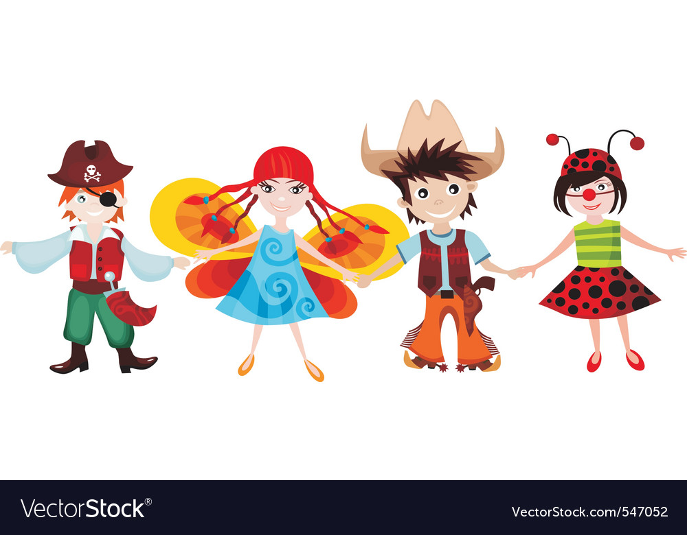 Children set vector