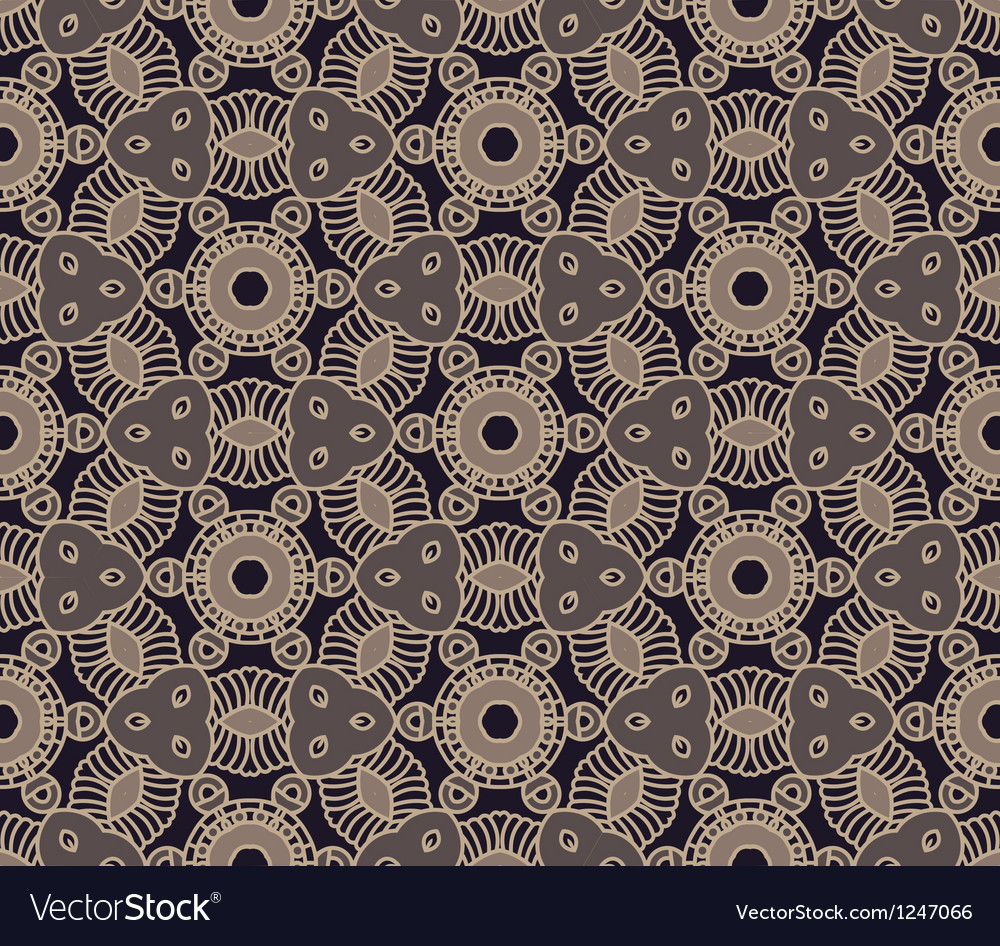 Seamless colorful retro pattern background vector
