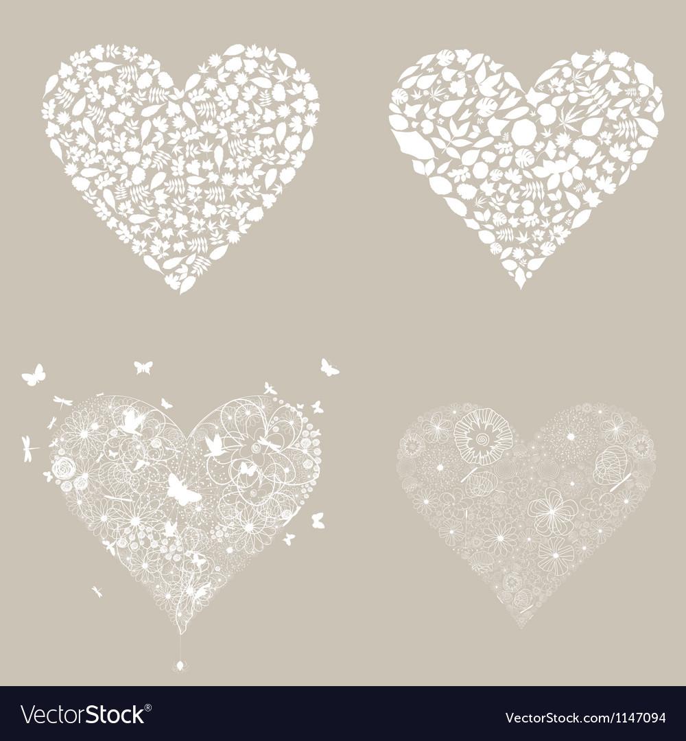 Heart design an element3 vector