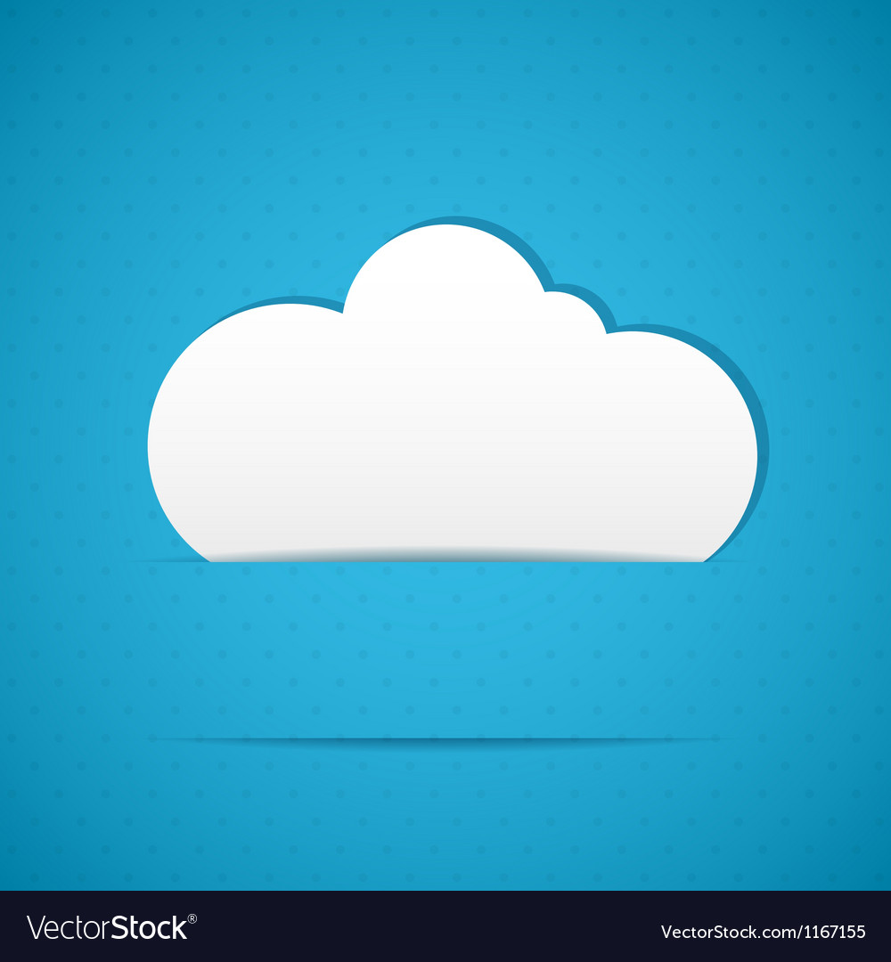 Clouds frame vector